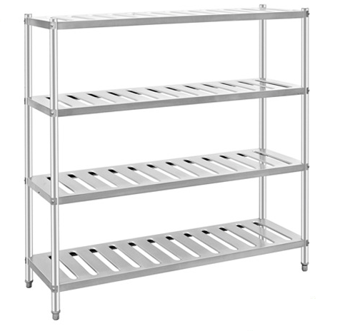 Stainless Steel Freezer Hotel Kitchen Cold room Rack with adjustable Shelf