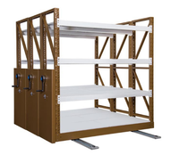 Heavy Duty Industrial Adjustable Mobile Shelving For Warehouse
