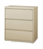 3 Drawers Lateral Filing Storage Cabinet With Lock