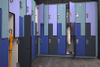 Military Colored Decorative Z Style Metal Lockers